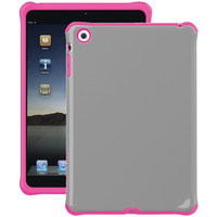 Ballistic Ipad Mini With Retina Display And Ipad Mini Urbanite Case (dark Charcoal Gray And Strawberry Pink)