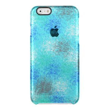 Winter Theme in Frosted Look Cell Phone Case