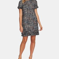 CeCe Multicolored Tweed Fringe Dress Women - Dresses - Macy's