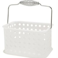 Bath Basket Caddy - College bathroom products necessities for living on campus living in a dorm room stuff for your dorm room