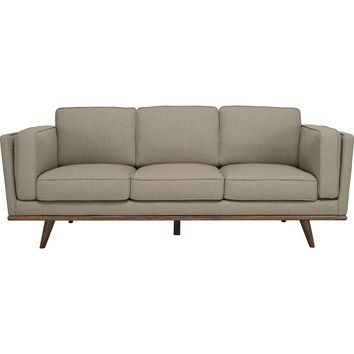 Civic 3 Seater Sofa - Sandstone