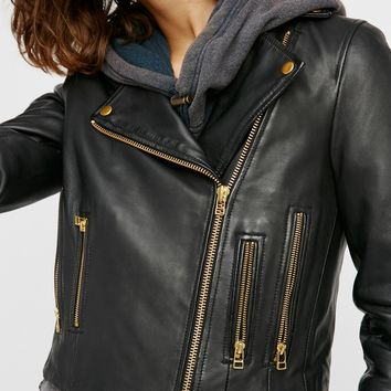Free People Harrier Biker Jacket