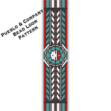 8efd038e390 Zuni Sun God Bead Loom or Square Stitch Pattern - PDF - Tribal -