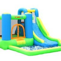 Bounceland Jump and Splash Bounce House Bouncer