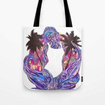 Cali for the Summer Tote Bag by Ben Geiger