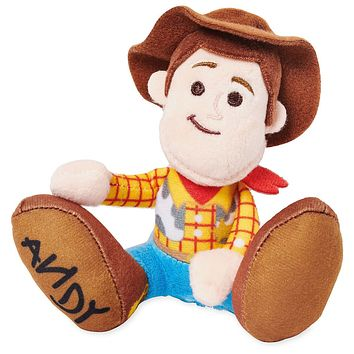 Disney Toy Story Woody Tiny Big Feet Plush Micro New with Tags