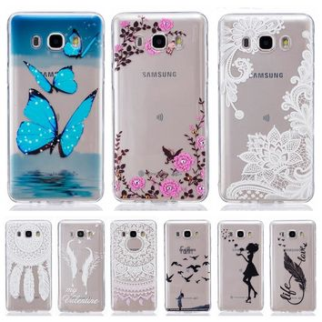 Soft TPU Silicone case 5.2For Fundas Samsung Galaxy J5 2016 Case For Samsung J5 2016 J510 J510F Cover Clear Mobile Phone Case