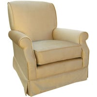 Angel Song 201021176Down Aspen Taupe Adult Club Rocker Glider w/ Plush Down Cushion