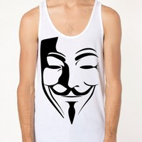 Guy Fawkes Raves Tank Top | Rave Tank Top | EDM Party Tank Top