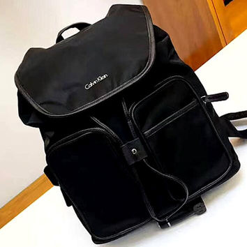 """CALVIN KLEIN"" Casual Sport Laptop Bag Shoulder School Bag Backpack"