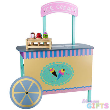 Wooden Wonders The Incredible Ice Cream Cart