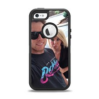 The Add Your Own Image Apple iPhone 5-5s Otterbox Defender Case Skin Set