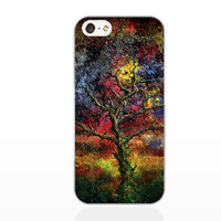 Painting tree case,IPhone 5s case,,IPhone 5c case,IPhone 5 case,IPhone 4 Case,IPhone 4s case,soft Silicon iPhone case,Christmas present