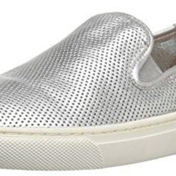 Fashion Women's  Sneaker Cooper Perforated Leather Slip-on  Perforated Leather