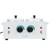 Segawe Electric Heater Double Wax Warmer Dual Parrafin Hot Facial Skin Equiped SPA Nv502