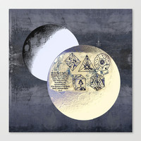 Kepler and his machinations Canvas Print by anipani