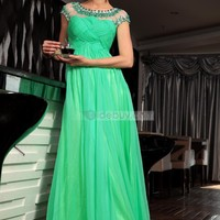 Hot Sale A-line Dreads Long Prom Dress