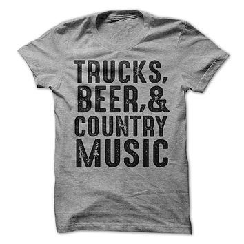 Trucks Beer And Country Music