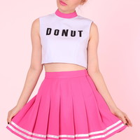 Glitters For Dinner — PRE ORDER - Team Donut cheer set (top and skirt)