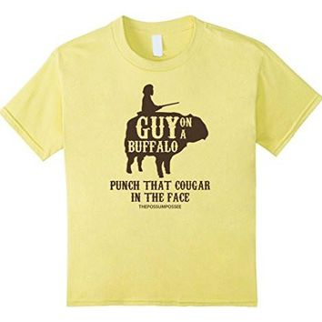 Guy On A Buffalo Shirt ~ Possum Possee Funny Graphic Tee