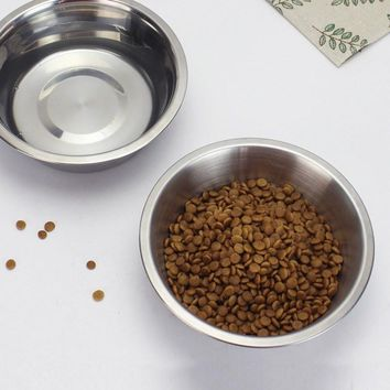 Standard Dog Feed Bowl, Stainless Steel