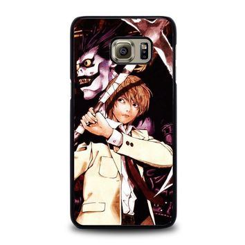 death note ryuk and light samsung galaxy s6 edge plus case cover  number 1