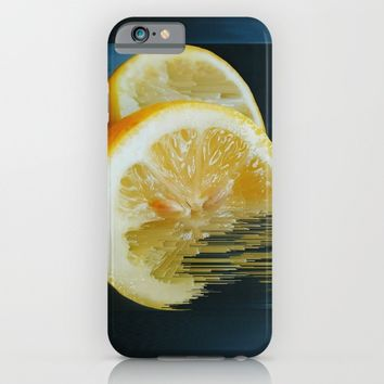 Lemony Good V.2 iPhone & iPod Case by Ducky B