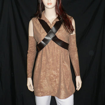Star Wars, Padme, Brown Tunic and Pants, EP III