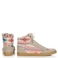 TEEPEE2 Aztec Hi-Tops - New In This Week - New In - Topshop USA