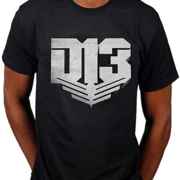 Cool T Shirts Designs Men's Hunger Games District 13 T-Shirt Television Movie Catching Fire Panem O-Neck Short Sleeve Tall Mens