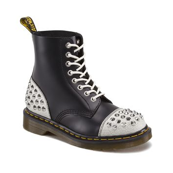 Dr. Martens 1460 Dai Boot, Black White | Journeys Shoes