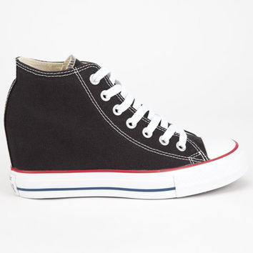 Converse Chuck Taylor All Star Lux Womens Shoes Black  In Sizes