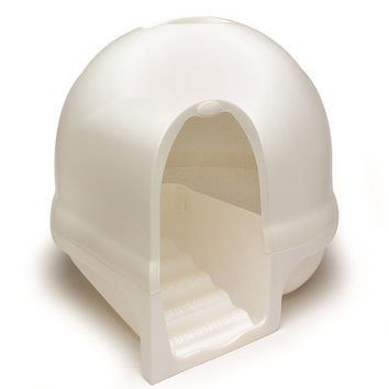 Booda Clean Step Litter Box Pearl