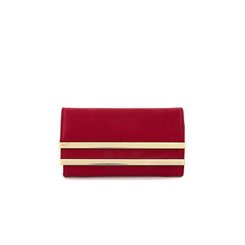 Red Gold Bar Wallet