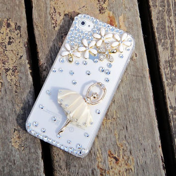 iPhone 5S Case Bling iPhone 5C case Ballet iPhone 5S case for Dancer iPhone 5C Bling iPhone 5S Case ballet iPhone 5S case cute hullen 100078