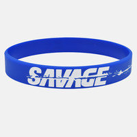 Sleefs Savage Blue/White Wristband