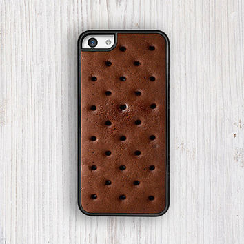 Ice Cream Sandwich iPhone 5C Case, Foodie iPhone 5S case, Brownie iPhone 4 case, Chocolate 4S Case