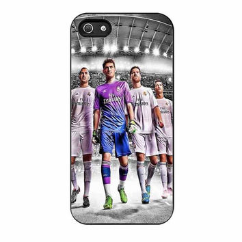 real madrid fc team cases for iphone se 5 5s 5c 4 4s 6 6s plus