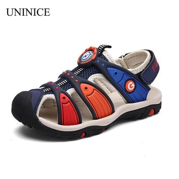 2017 New summer children beach sandals boys fashion kids shoes for girls non-slip sandalias infant girls shoes brand boy shoes