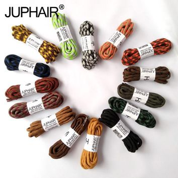 JUP 1 Pair Double Shoelaces Hiking Shoes Laces Round Shoelace Strings Shoes Round Polyeste  Sneakers Shoelaces 120cm 140cm 160cm