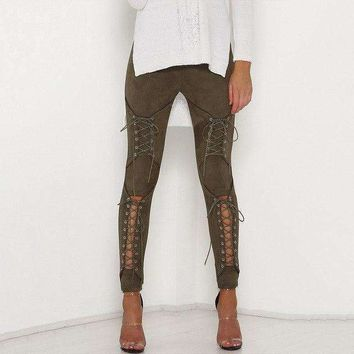 Womens Pencil Pants