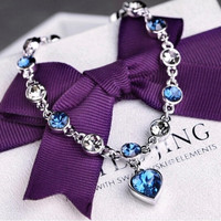 Stylish Shiny New Arrival Awesome Gift Great Deal Hot Sale Crystal Accessory Bangle Bracelet [6573078215]