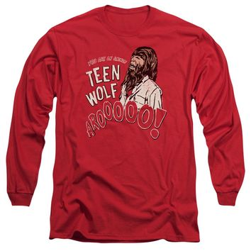 Teen Wolf - Animal Long Sleeve Adult 18/1 Officially Licensed Shirt