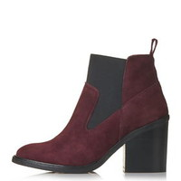MOON Elastic Boots - Bordeaux