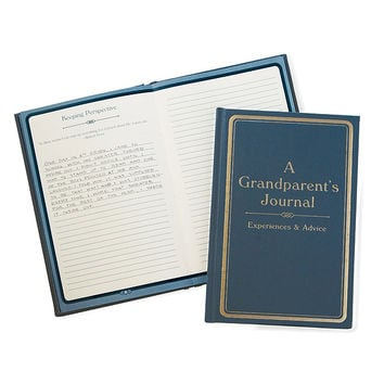 A Grandparent's Journal- Experience and Advice | Fill-in Grandparent's Advice Book