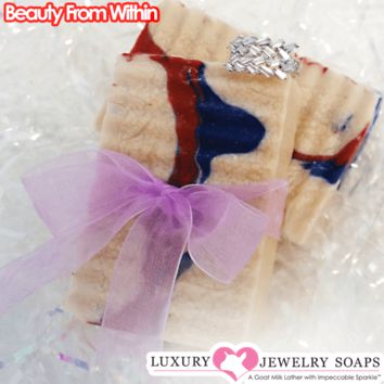 Beauty From Within Luxury Jewelry Soaps