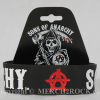Sons of Anarchy Wristband Bracelet - Red A