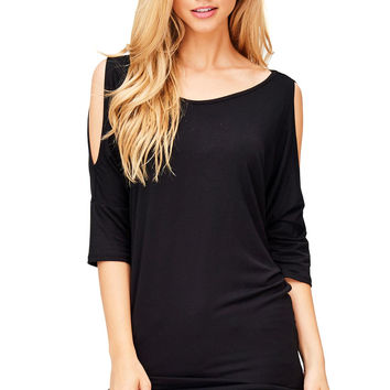 Capsule Cold Shoulder Top