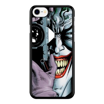 Joker Harley Quinn Batman Avengers iPhone 8 Case