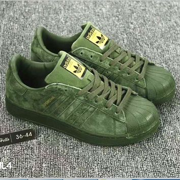 Adidas Shell Toe Sneakers Sport Shoes H-A36H-MY